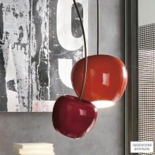 Adriani e RossiP196X red — Потолочный подвесной светильник CHERRY LAMP BIG