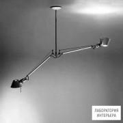 ArtemideA036400 — Светильник потолочный подвесной TOLOMEO SOSPENSIONE DUE BRACCI