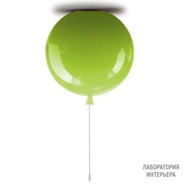 BrokisPC877 CGC578 CGSU66 CEE777 — Потолочный накладной светильник MEMORY D300 H317,5 Зеленое яблоко глянцевый