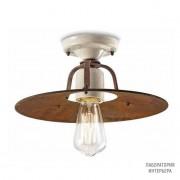 FerroluceC1434 18 — Потолочный накладной светильник Grunge