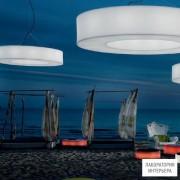 Modo LuceATOESO100D01 white — Уличный потолочный подвесной светильник Atollo