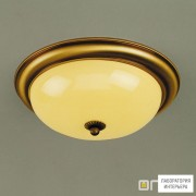 Orion DL 7-086 35 Patina champ glanzend — Потолочный накладной светильник Nostalgie ceiling light, 35cm, antique brass finish, shiny champagne glass