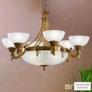 OrionLU 1689 6+3 bronze (9xE27) — Потолочный подвесной светильник Rocca Chandelier with 9 lamps, bronze finish