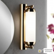 Orion Soff 3-464 1 gold 494 opal-seidenmatt — Настенный накладной светильник Nostalgie wall light, 24K gold plated, 28cm