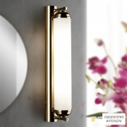 Orion Soff 3-464 2 gold 495 opal-seidenmatt — Настенный накладной светильник Nostalgie wall light, 24K gold plated, 42cm