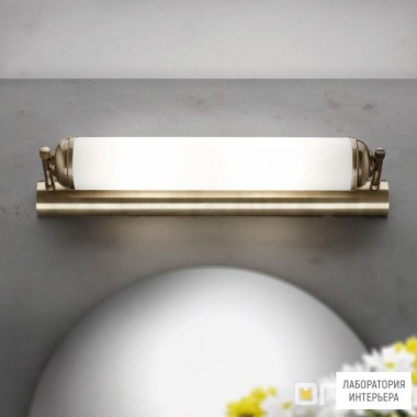 Orion Soff 3-464 2 Patina 495 opal-seidenmatt — Настенный накладной светильник Nostalgie wall light, antique brass finish, 42cm