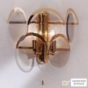 OrionWA 2-162 2 gold 293 rauch — Настенный накладной светильник Rauchglas wall light, gold finish
