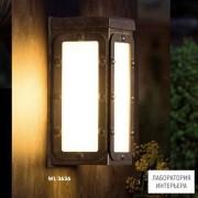 RobersWL3636 — Настенный накладной светильник INDUSTRIAL
