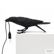 Seletti14736 — Настольный светильник Bird Lamp Black Playing